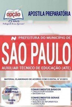 Apostila Prefeitura de São Paulo 2018