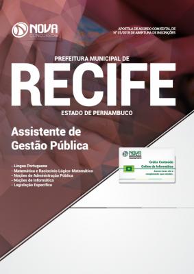 ApostilaPrefeitura do Recife 2018