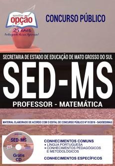 Apostila Concurso SED MS 2018 Professor de Matemática