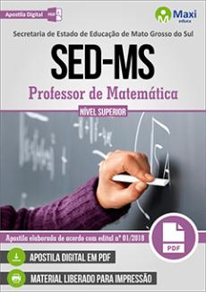 Apostila Concurso SED MS 2018