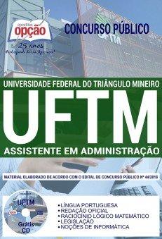 Apostila UFTM 2018 Assistente em Administração