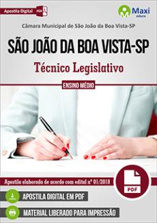 Apostila Câmara de São João da Boa Vista