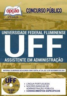 Apostila Concurso UFF 2019 Assistente em Administração