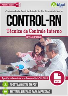 Apostila CONTROL CGE RN