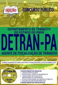 Concurso DETRAN PA Agente de Fiscalização de Trânsito