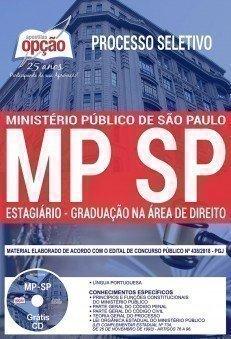 Apostila Processo Seletivo MP-SP 2018 Estagiários