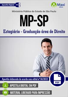 Apostila Processo Seletivo MP-SP 2018