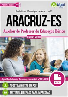 Apostila Concurso Aracruz ES 2019 pdf
