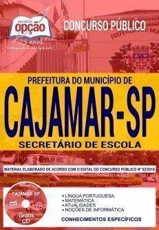 Apostila Concurso Prefeitura de Cajamar 2018 pdf