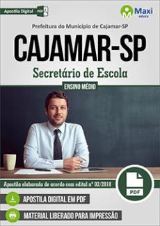 Apostila Concurso Prefeitura de Cajamar