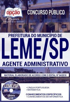 Apostila Prefeitura de Leme