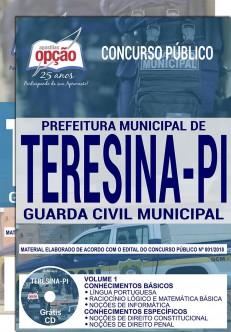 Apostila Concurso Guarda Municipal Teresina 2019