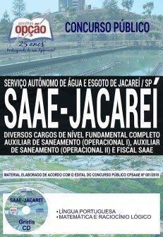 Apostila SAAE Jacareí 2018