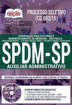 Apostila SPDM SP 2018