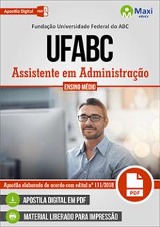Apostila Concurso UFABC 2019 Assistente em Administração