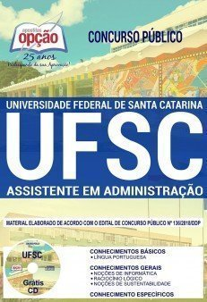 Apostila Concurso UFSC 2019 Assistente em Administração