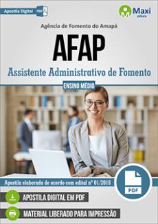 Apostila AFAP 2018 2019