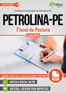 Apostila Concurso Petrolina 2019