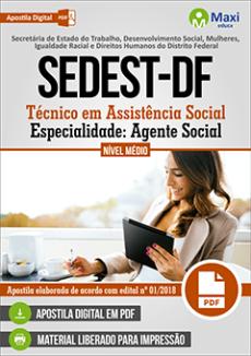 Apostila SEDEST DF 2019