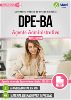 Apostila DPE-BA 2018