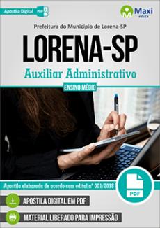 Concurso Prefeitura de Lorena