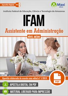 Apostila Concurso IFAM 2019 pdf