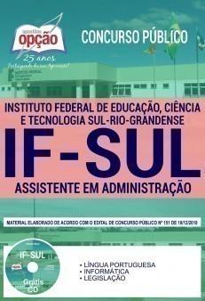 Apostila IFSul 2019 Assistente em Administração