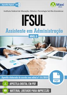 Apostila IFSul 2019