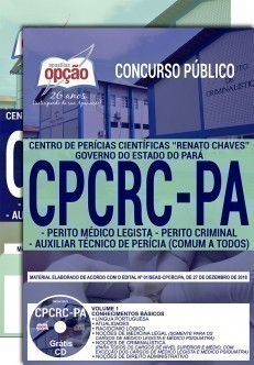 Apostila Concurso CPCRC PA - Níveis Médio e Superior