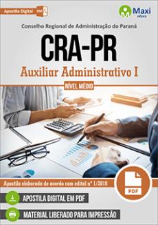 Apostila CRA-PR 2019