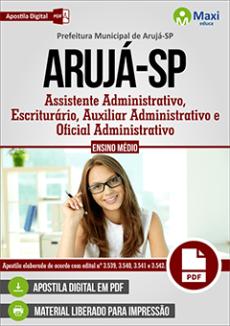 Apostila Prefeitura de Arujá 2019 pdf