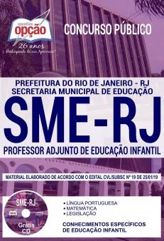 Apostila Concurso SME RJ 2019