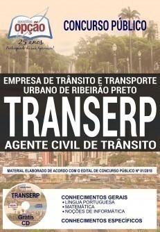 Apostila Agente Civil de Trânsito TRANSERP 2019 pdf