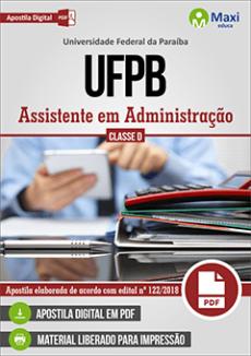 Apostila Concurso UFPB