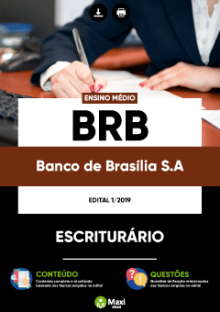 Apostila Concurso BRB 2019
