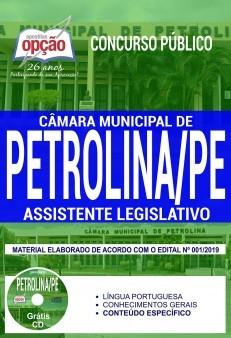 Apostila Câmara de Petrolina 2019
