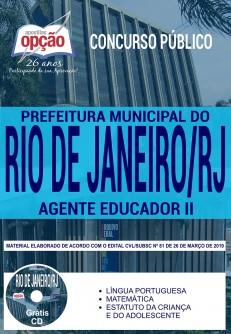 Apostila Concurso Rio de Janeiro Agente Educador