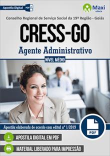 Apostila Concurso CRESS GO