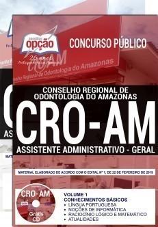 Apostila Concurso CRO-AM Assistente Administrativo
