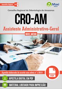 Apostila Concurso CRO-AM