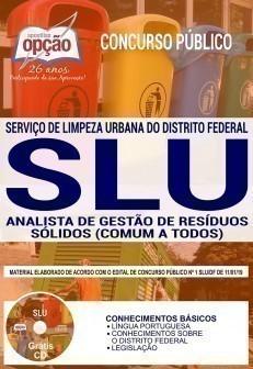 Apostila SLU DF 2019 pdf Analista