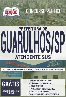 Download Apostila Prefeitura de Guarulhos Atendente SUS