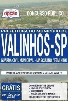 Apostila Prefeitura de Valinhos