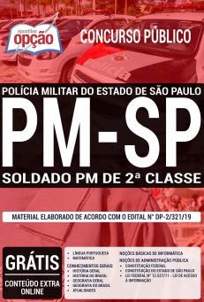 Apostila PM-SP 2019 Soldado 2a. Classe