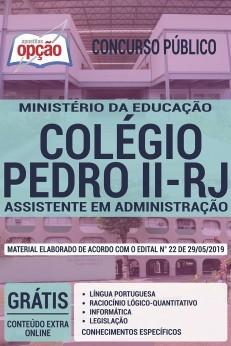 Concurso Colégio Pedro II 2019