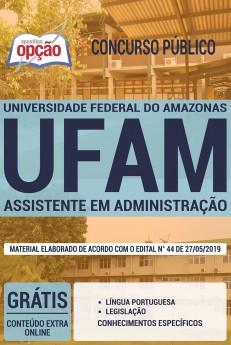 Apostila Assistente em administração UFAM