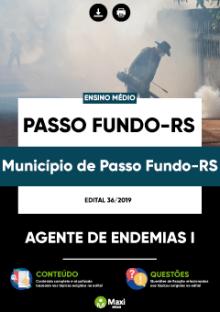 Apostila Prefeitura de Passo Fundo Agente de Endemias I