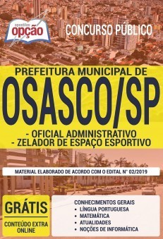 Apostila Concurso Prefeitura de Osasco