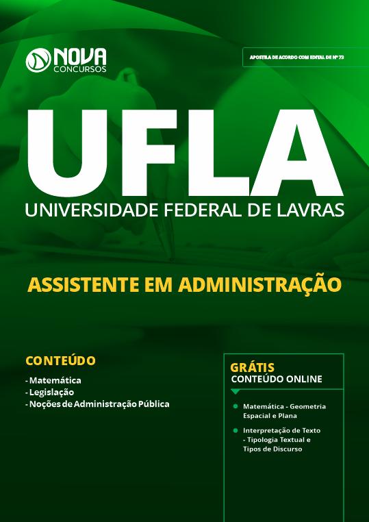 Apostila Concurso UFLA