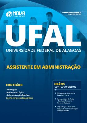 Apostila UFAL 2019 Assistente em Administração